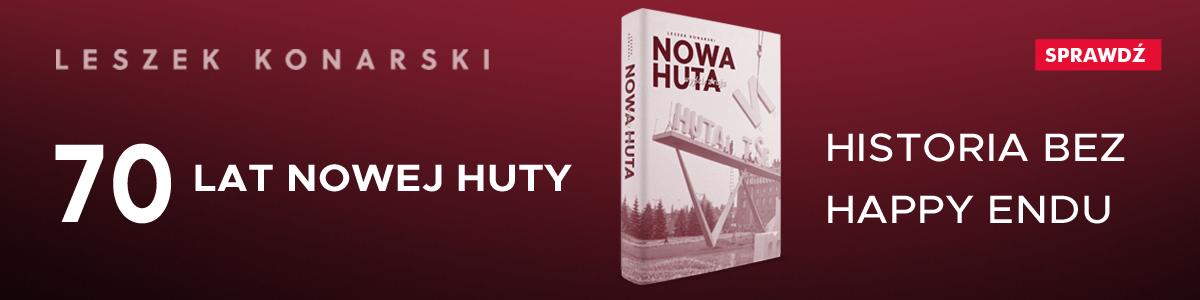 Banner książki oNowej Hucie
