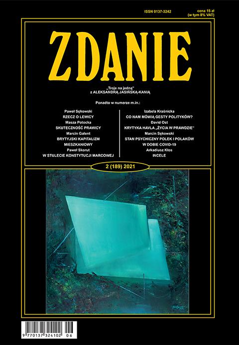 okladka - Zdanie 2/2021,