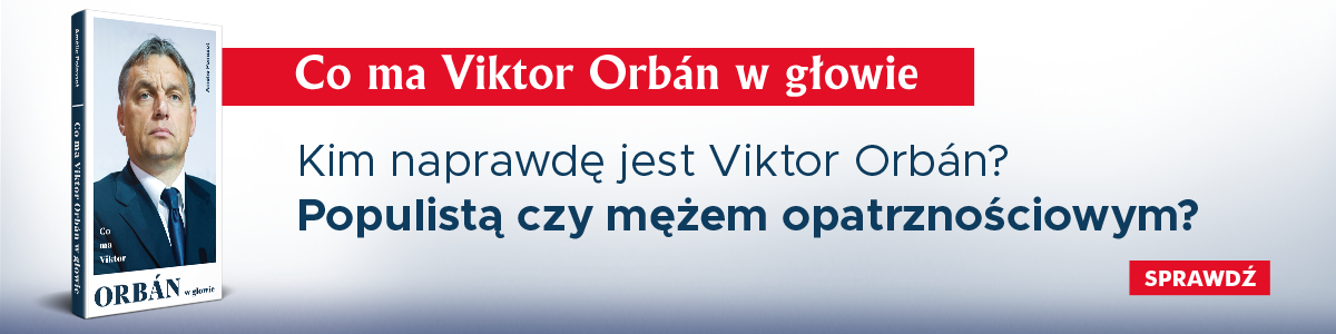 Banner książki oOrbanie