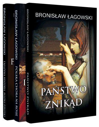 Książki: 3 Tomy profesora Łagowskiego