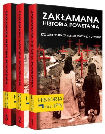 Książki: Pakiet Zakłamana historia powstania